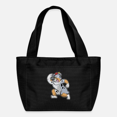 Australian Cattle Dogs Cartoon Australian Shepherd Cartoon - Lunch Bag