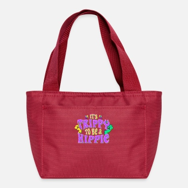 Hippie Festival Cute It's Trippy To Be a Hippie Festival Hipster - Lunch Bag