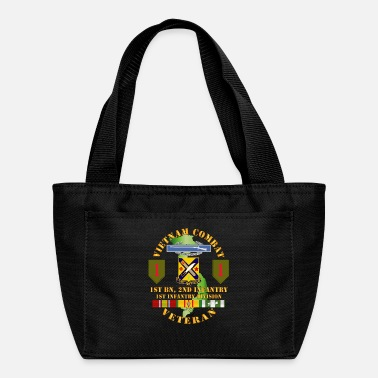 T Shirt Army Vietnam Combat Infantry Veteran w - Lunch Bag