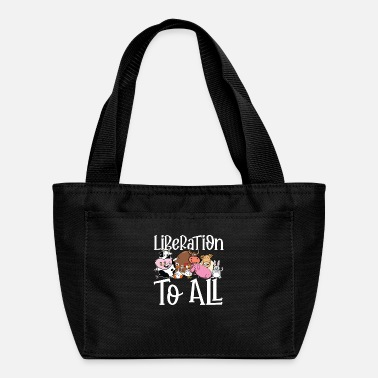 Prohibited Liberationt to All | vegan and vegetarian gift - Lunch Box