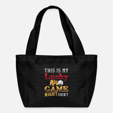 Over This is my Lucky Game Night shirt - Lunch Box