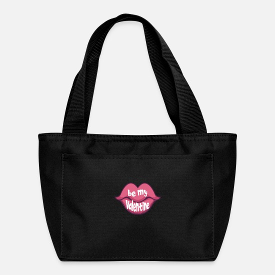 Love Bags & Backpacks - Be my Valentine - Lunch Box black
