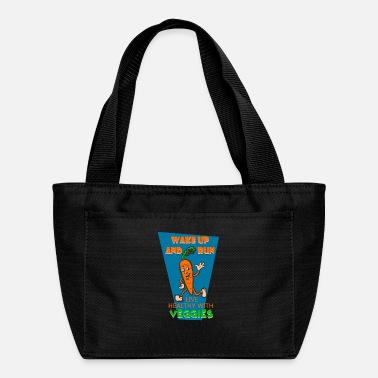 Vegan Plant Vegan Sport Carrot Running Run I Gift Idea - Lunch Box