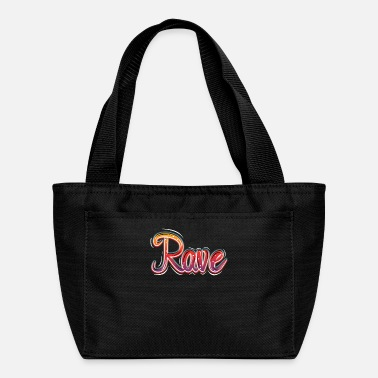 Electro Rave Heart Music Electronic Music - Lunch Bag