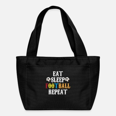 Dream Eat Sleep Football Repeat Football Gift - Lunch Box