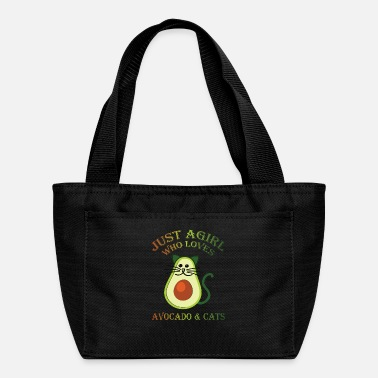 Baby Just A Girl Who Loves Avocado & Cats Avocato Girls - Lunch Box