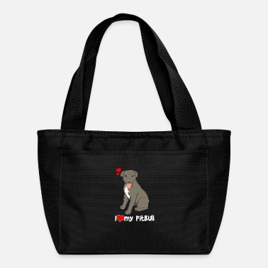 Bull I Love My Pitbull Gift Pit Bull Lover Print - Lunch Box