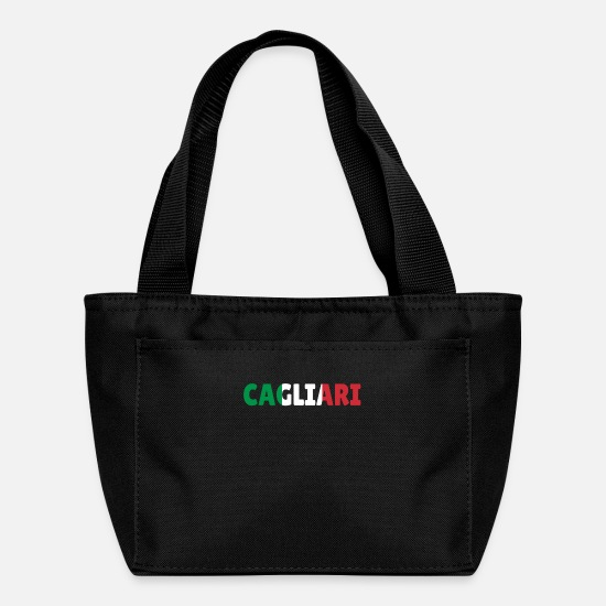Mediterranean Bags & Backpacks - Cagliari Italy Sardinia Flag Gift - Lunch Box black