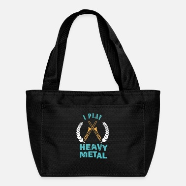 Play I Play Heavy Metal Trombone Musician - Lunch Box
