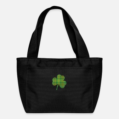 Luck St. Patrick's Day - Pattern 4 Leaf Clover - Lunch Box