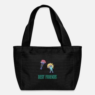 Sea Best friends dabbing dive Gift - Lunch Box