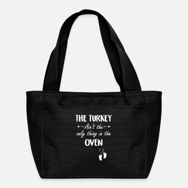 Turkey Oven Thanksgiving Pregnancy - Lunch Bag