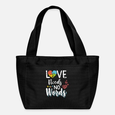 Puzzle Love Needs No Words - Lunch Box