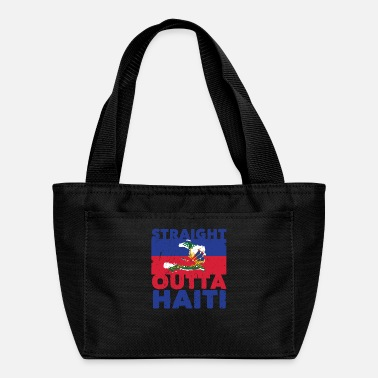 Calm Haiti Haitian Straight Outta Flag I Gift Idea - Lunch Box