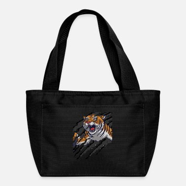 Scratch Tiger Scratch | Scratch Marks - Lunch Box