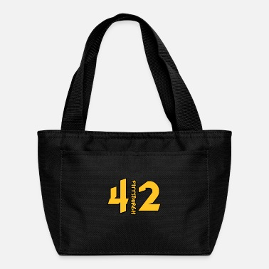 Off Pittsburgh 412 Gold T-Shirt Gifts - Lunch Box
