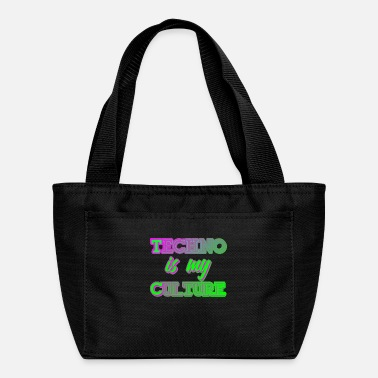 Dj Techno Culture Quote | Rave Raver Trance Hardstyle - Lunch Box
