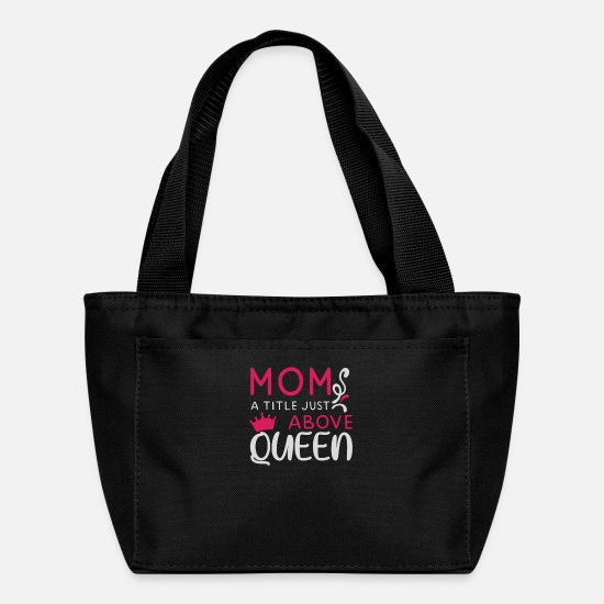 Love Bags & Backpacks - Mom mother's day gift ideas - Lunch Bag black
