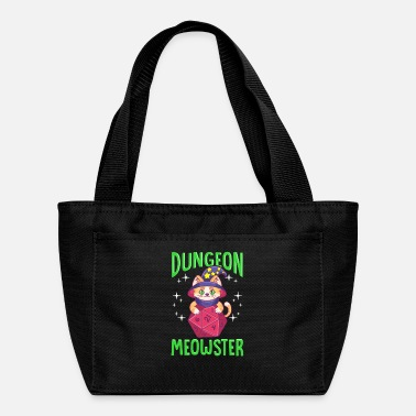 Dice Funny Dungeon Meowster - Lunch Box