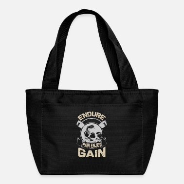 Lifting Endure pain enjoy gain - Lunch Box