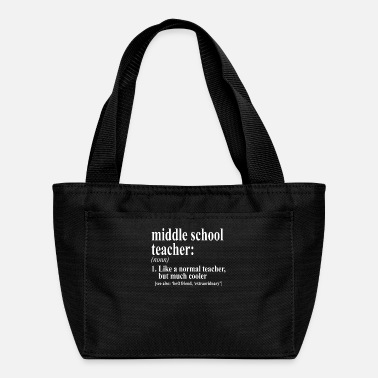 Back To School Middle School Teacher Definition - Lunch Box