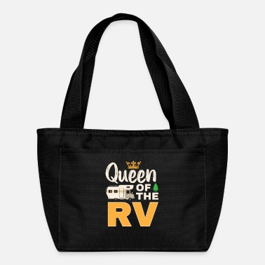 Mobile Queen Of The RV Mobile Home rv owner Shirt - Lunch Box