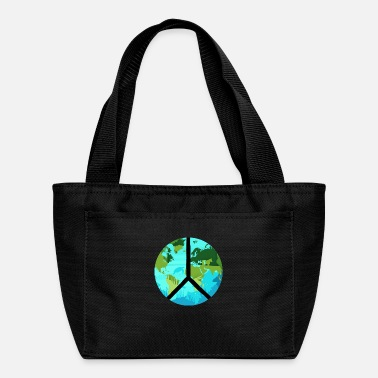 Recycling Earth Day Save Sea Turtles Environmental Peace - Lunch Box