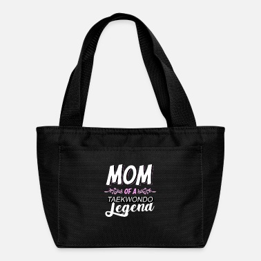 Tae Kwon Do proud mom of a taekwondo figher tae kwon do mother - Lunch Bag