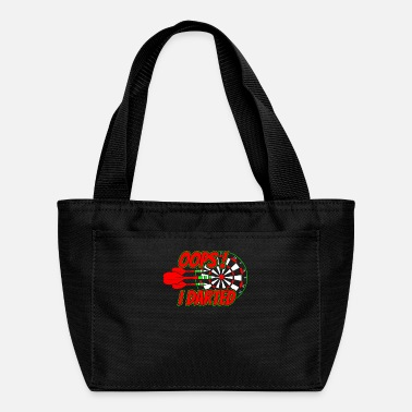 League Game Dart Player - Lunch Bag