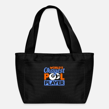 Billiard Ball Pool Player Billiards - Lunch Bag