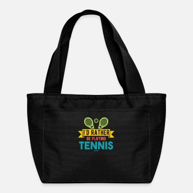 Tennis Tennis coach tennis ball funny - Lunch Bag