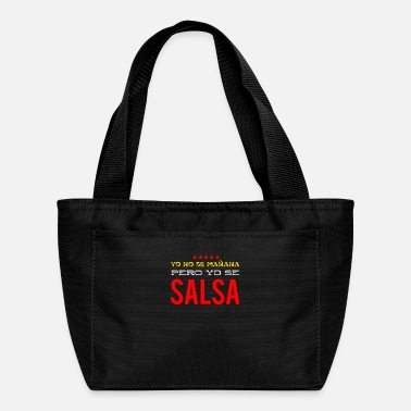 Cuba Salsa Dance Yo se Salsa Funny - Lunch Bag