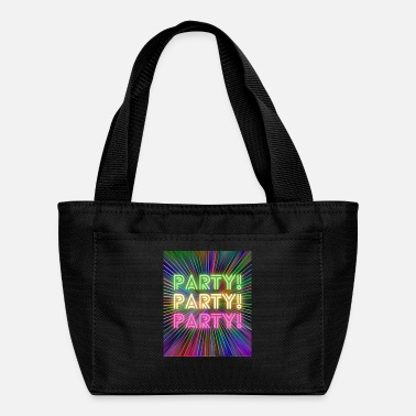 Party Party! Party! Party! - Lunch Bag