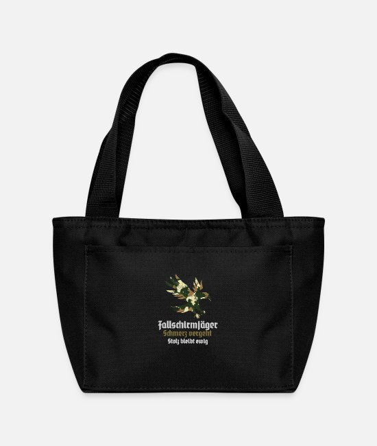 Office Bags & Backpacks - paratroopers jumper course Ehren TShirt - Lunch Bag black