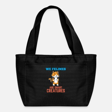 Clever Cat clever clever school teacher - Lunch Bag
