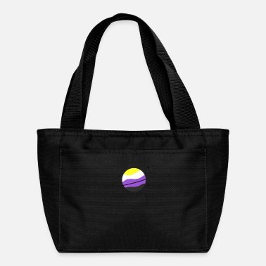 Planetcontest Nonbinary Outer Space Planet Aesthetic shirt - Lunch Bag