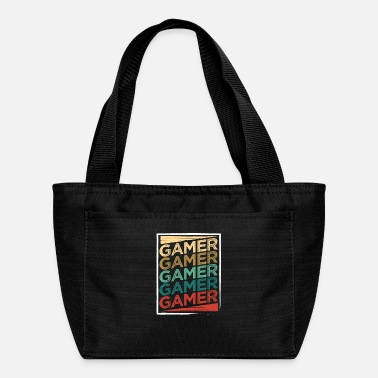 Gamer Gamer Vintage Gamer Gamer Gamer Gamer Gamer - Lunch Bag