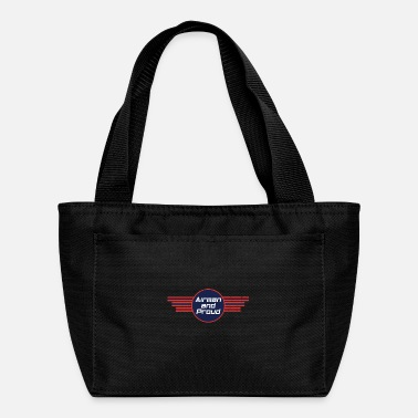 Numbered Air Force Airman And Proud - Air Force - Lunch Bag