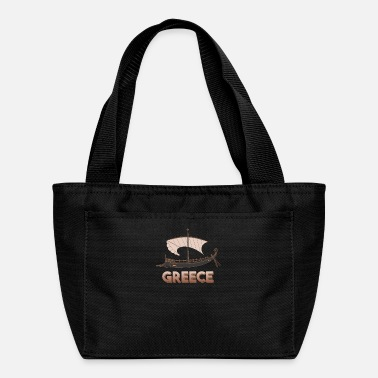 Ancient Ancient Greek ship - Ancient Greece - Lunch Bag