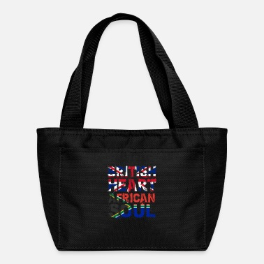 British British Heart African Soul - Lunch Bag