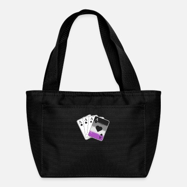 Cards Ace Asexual Pride Gifts Playing Card LGBTQ Pride - Lunch Bag