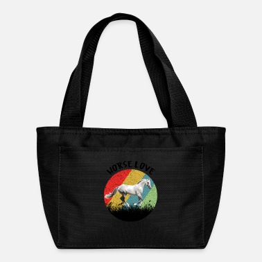 Show Jumping Retro Horse Horse Love Riding Beauty - Lunch Bag