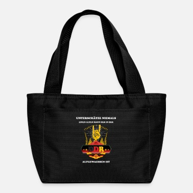 Gdr Old man born in the GDR - DDR Shirt - Lunch Bag