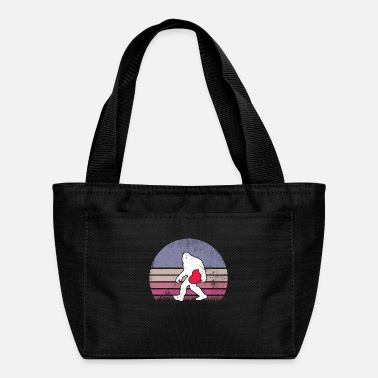 Engagement Bigfoot Heart Shirt Valentine's Day Gift Men Love - Lunch Bag
