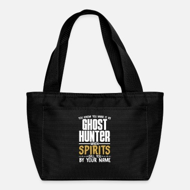 Record You know you made it as ghost hunter paranormal - Lunch Bag