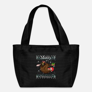 Meeting Merry Christmassy Slothiday - Lunch Bag