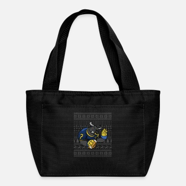 American Football American football christmas 25 - Lunch Bag