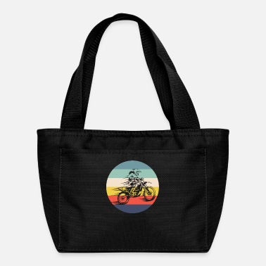 Motocross Motocross Vintage Motocross Retro Motocross - Lunch Bag
