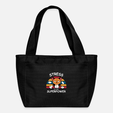 Lol Superpower Stress Geek or Hipster Gift - Lunch Bag