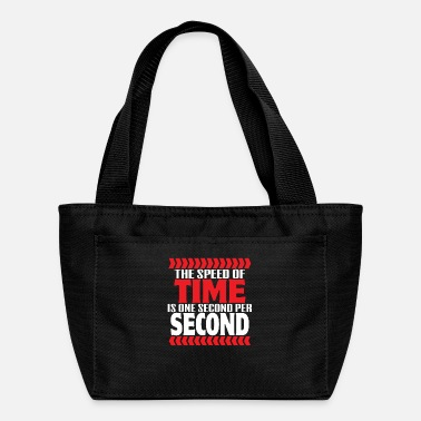 Astrology THE SPEED OF TIME IS ONE SECOND PER SECOND Gifts - Lunch Bag